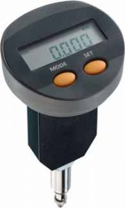 KAFER Digital Dial Gauge FKMD 5 R with Back Plunger - Reading: 0.001 mm